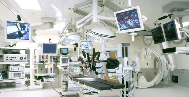 Opening of a modern surgical department